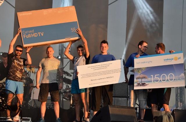 Podczas Dni Inowrocławia 2018 zorganizowano tradycyjne zawody w ślizgu wodnym. Rywalizowały trzyosobowe drużyny. Nagrodą był m. in. 55-calowy telewizor i kasa na wakacje (1500 zł). Przed i po zawodach ze ślizgu skorzystać mógł natomiast, kto tylko miał na to ochotę