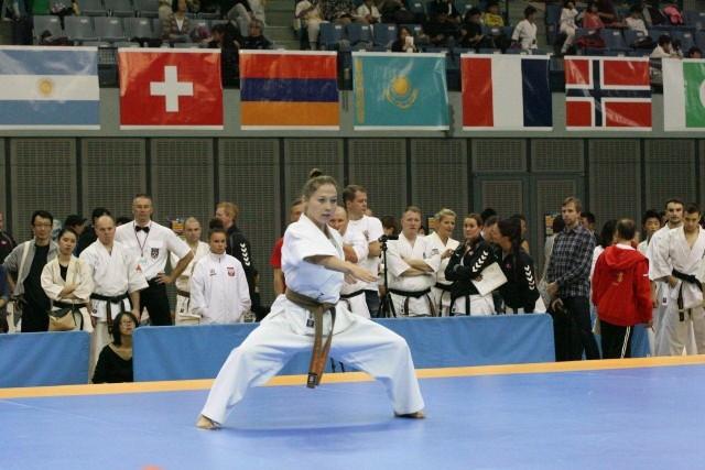 Anna Lisowska podczas występu na mistrzostwach świata w Tokio