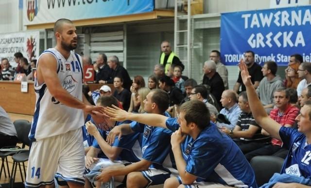 Marcin Kowalewski trafił w tym meczu tylko jeden rzut z gry.