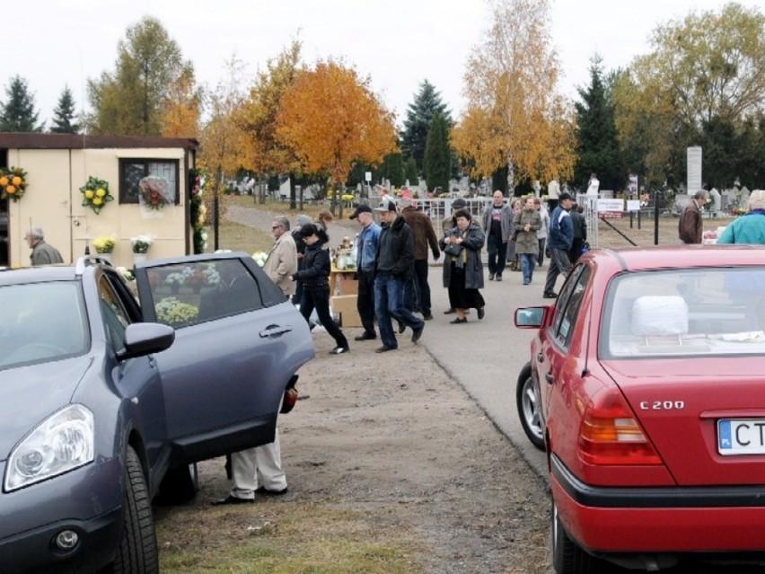 W okolicach toruńskich cmentarzy zmienia się organizacja...
