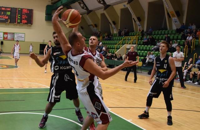 Zwycięstwo koszykarzy z Inowrocławia. Domino - Trefl II Sopot 76:66.