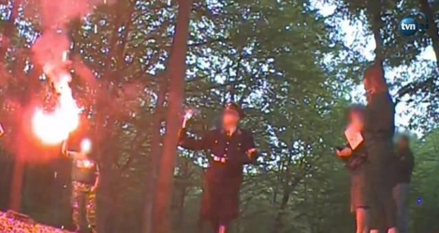 Kadry z filmu Superwizjera TVN