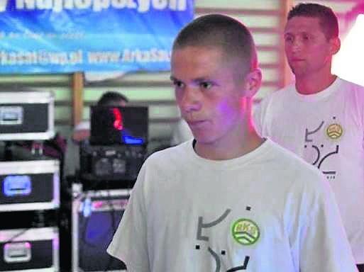 Czy znajdzie się sponsor dla utalentowanego młodego boksera?