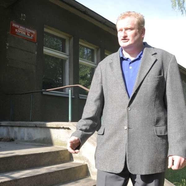- To idealne miejsce pod budowę hospicjum. Prezydent nie powinien blokować tego pomysłu - uważa Grzegorz Chudomięt.