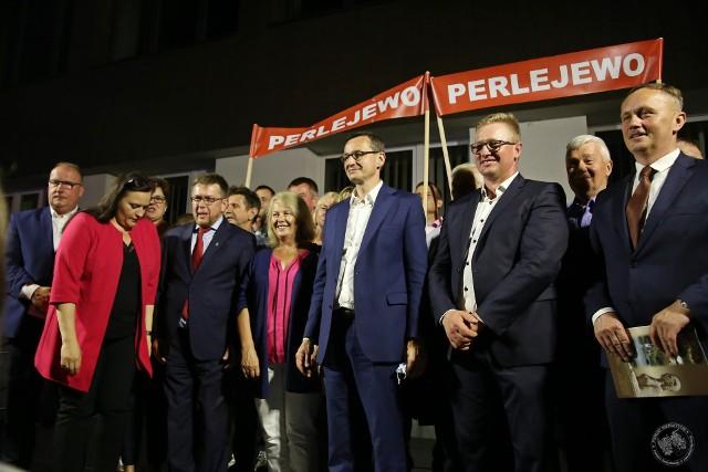 Premier Mateusz Morawiecki w Siemiatyczach