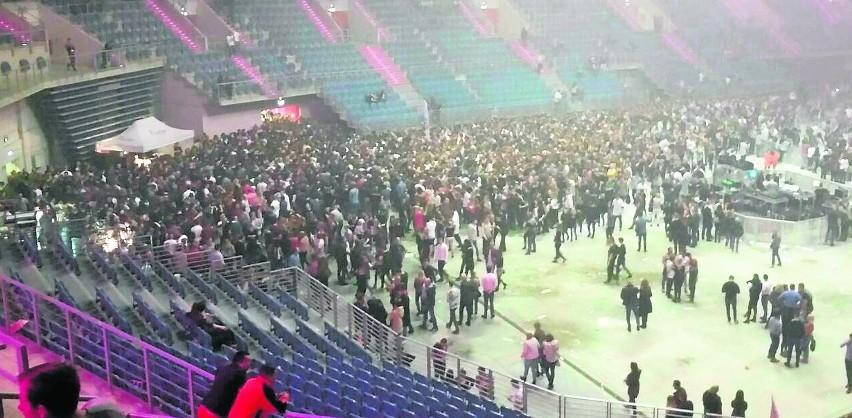 Po koncercie Davida Guetty w Tauron Arenie panował ogromny ścisk. Doszło do omdleń, interweniowały służby medyczne