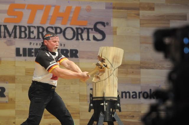 MŚ Stihl Timbersports Series: Drwale walczą indywidualnie [ZDJĘCIA]