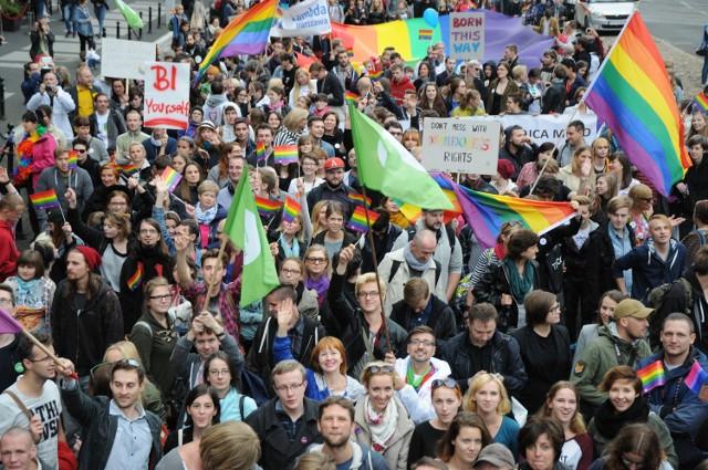 Spokojny Marsz Równości [ZDJĘCIA]