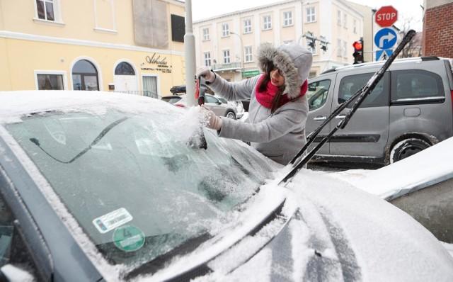 Zima wróciła do Rzeszowa.