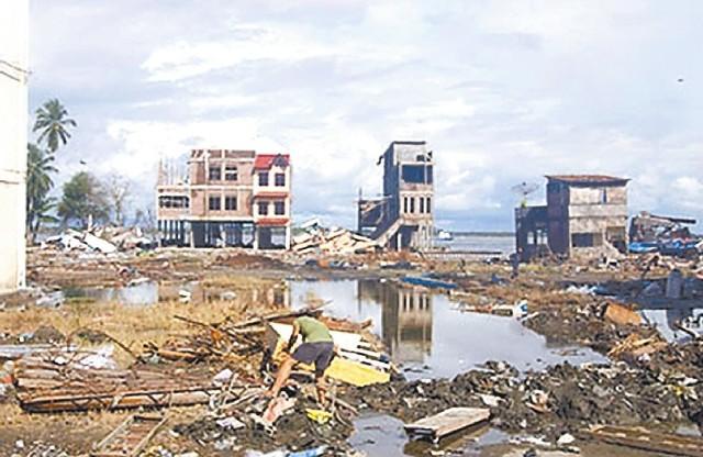 Mikroorganizmów na wielką skalę użyto po fali tsunami w Azji. Dzięki nim nie doszło do epidemii. (http://www.ucar.edu)