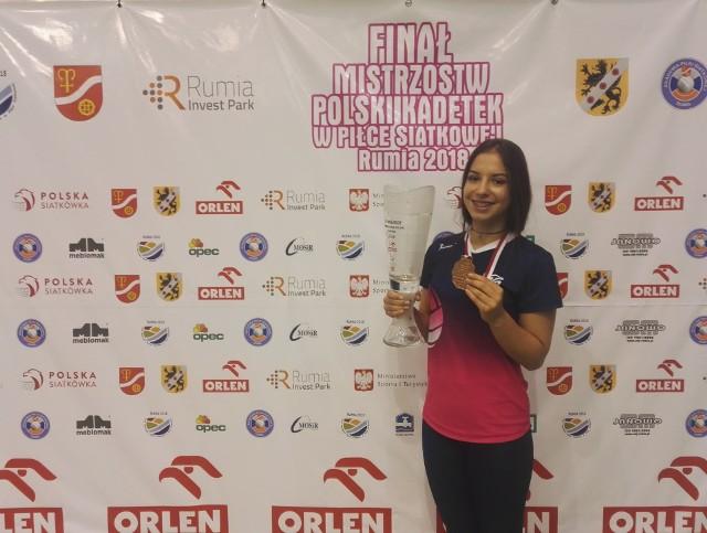 Angelika Rusin będzie w Stanach Zjednoczonych łączyć grę w siatkówkę ze studiowaniem kryminologii.