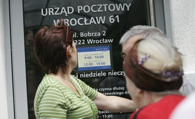 Wrocław ma za mało poczt (według nowego rozporządzenia ministra administracji i cyfryzacji)