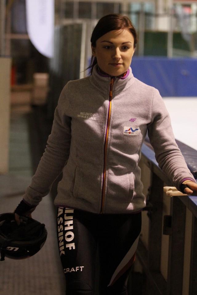 Barbara Kobylakiewicz zajęła miejsce tuż za podium w rywalizacji na 1500 m.