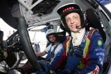 Ta przejażdżka... wcisnęła w fotel! Mikko Hirvonen przewiózł radomianina swoją rajdówką. Zobacz to na filmie