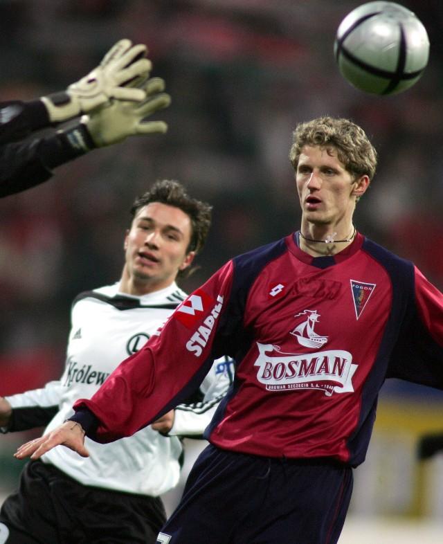 Paweł Magdoń strzelił Legii dwa gole.