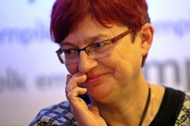 Urszula Mela spotkała się z czytelnikami 17.02 w salonie Empik w Gdańsku