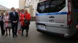 Sosnowiec: Wojewódzki Szpital Specjalistyczny nr 5 ma nowy bus dla pacjentów  ZDJĘCIA