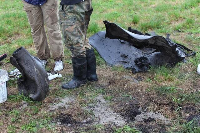 3 lipca w pobliżu wsi Mokre pod Zamościem znaleziono szczątki rakiety V2