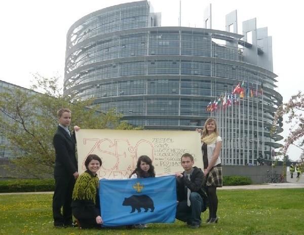 Wyjazd do Strasburga był nagrodą za esej o demokracji w Unii Europejskiej.
