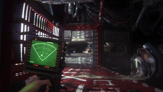 Alien: IsolationAlien: Isolation i nasza podstawowa broń: czujnik ruchu