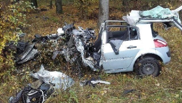 Do wypadku doszło we wtorek (25 października) około południa na drodze Nowa Sól - Stany.