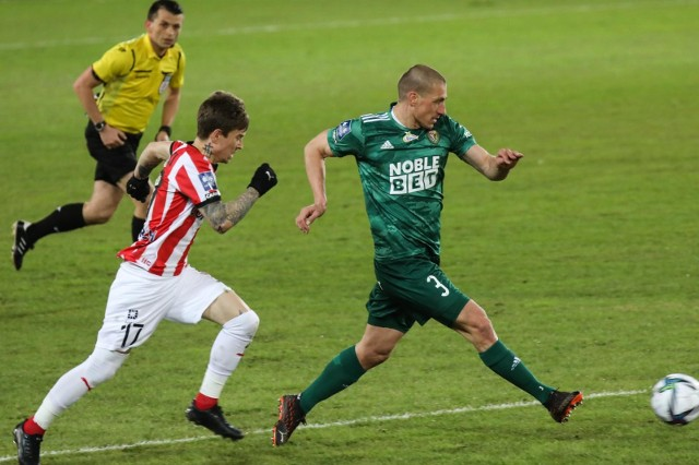 Jakub Kosecki zagrał dziewięć meczów w Cracovii, osiem w lidze i jeden w Pucharze Polski