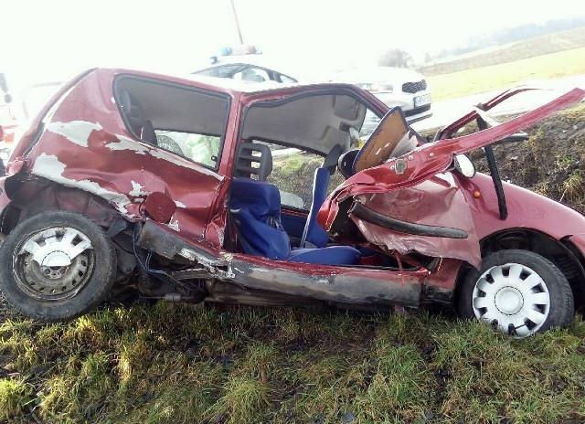 Wypadek w Zakrzewie.