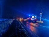 Śmiertelne potrącenie pieszego na trasie Kcynia – Szubin. Mężczyzna wpadł pod mercedesa