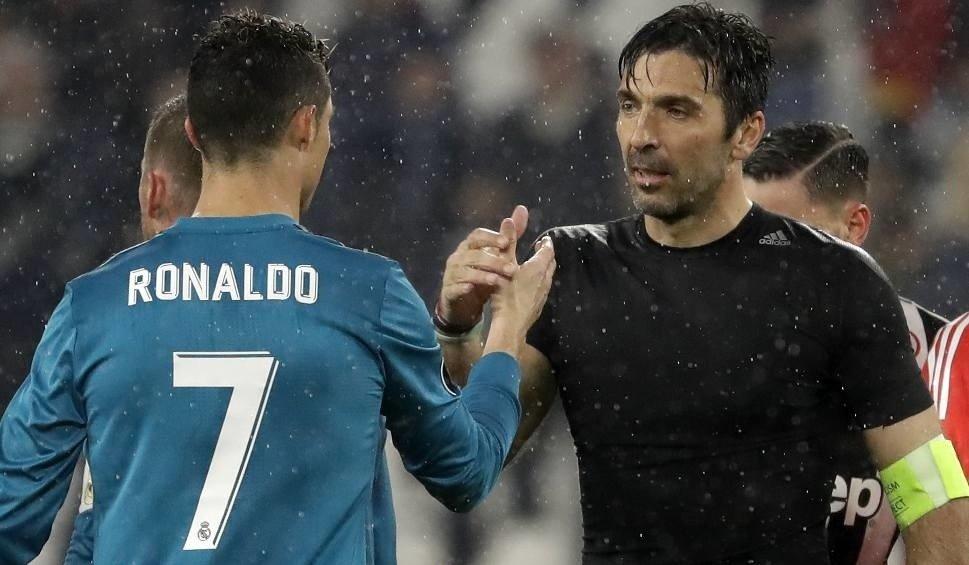 10a282a29 Real Madryt - Juventus Turyn 1:3 w Lidze Mistrzów. Cristiano Ronaldo  pokonał Wojciecha