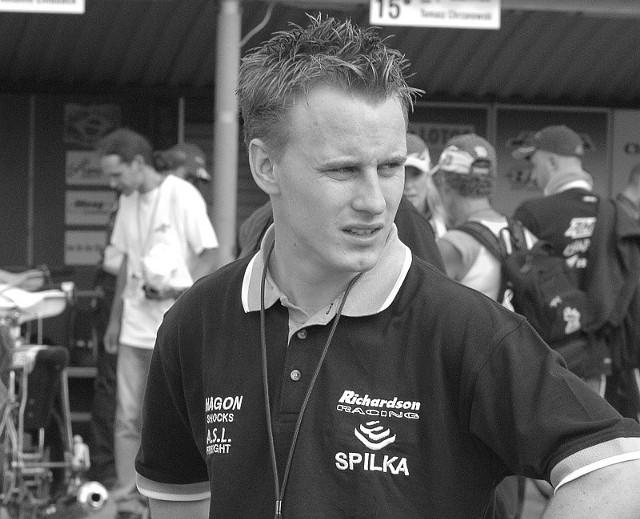 Lee Richardson zginął 13 maja 2012 r. Przez trzy sezony startował w Falubazie Zielona Góra.