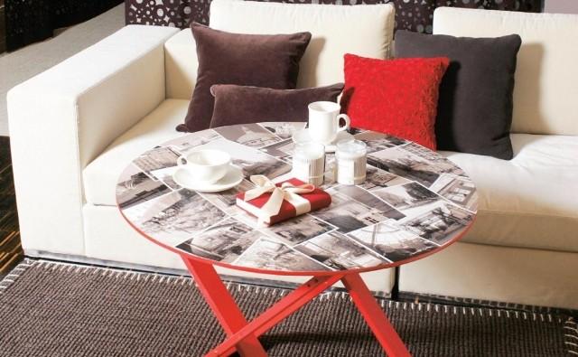 Efektowny i uroczy stolik kawowy, który możesz zrobić sam.
