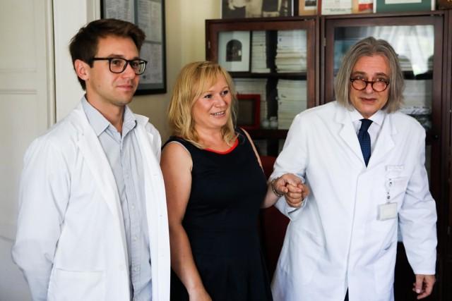 Pani Urszula jest pierwszą pacjentką w Polsce, która skorzystała z refundowanego zabiegu neuromodulacji krzyżowej