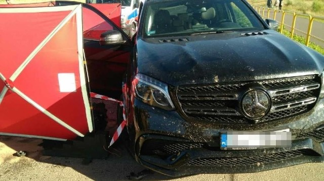 Śmiertelny wypadek w Kosakowie w środę, 22.07.2020 r. Nie żyje motocyklista