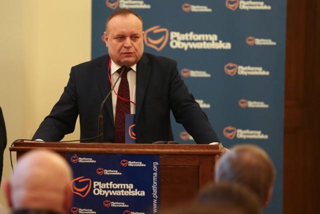 Jarosław Duda, szef wrocławskich struktur Platformy Obywatelskiej