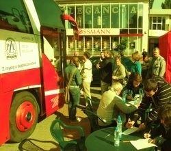 Ostrołęczanie spisali się na medal. Do ambulansu przy scenie koło Kupca, w którym można było w sobotę oddać krew, ustawiały się długie kolejki.
