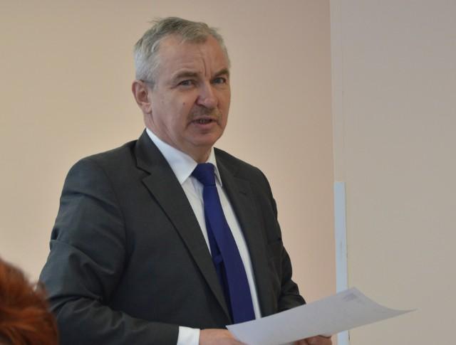 Wójt Jan Żebrak rządzi gminą Charsznica od 30 lat