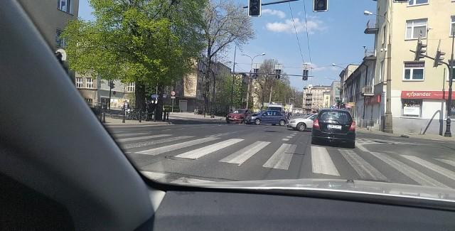Do zdarzenia drogowego doszło na ul. Lipowej w Lublinie