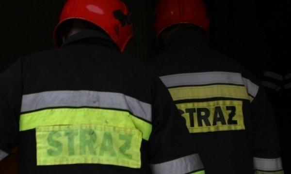 Strażacy gasili pożar przy ul. Parkowej w Szczecinie.