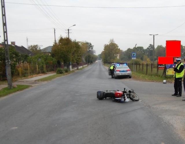 Do drugiego wypadku doszło przed godz.7 w Brześciu Kujawskim.