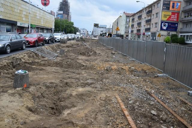 Przebudowa ul. Chrobrego i Mieszka I ma potrwać do 16 października 2021 r.