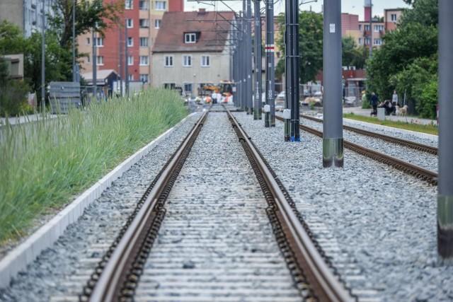 Remont linii tramwajowej na Stogach dobiega końca