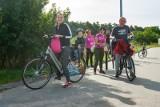 Na rowerach przez Białe Błota w AntyRakowej wyprawie po zdrowie [zdjęcia]