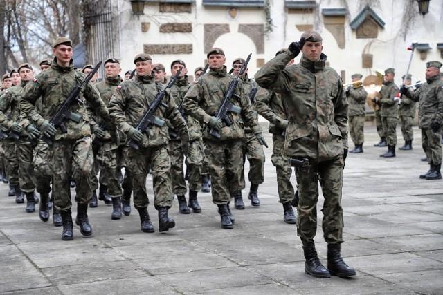 W uroczystej przysiędze wzięło udział 60 żołnierzy.