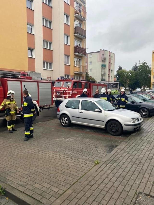 Pożar miał miejsce 27 września w Międzyrzeczu. Podejrzanego namierzono 1 października w Świebodzinie.