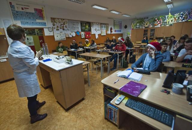 Zarówno dzieci, jak i nauczyciele, którzy przyjechali do Koszalina w ramach programu Erasmus, brali udział w codziennych zajęciach w Szkole Podstawowej nr 5.