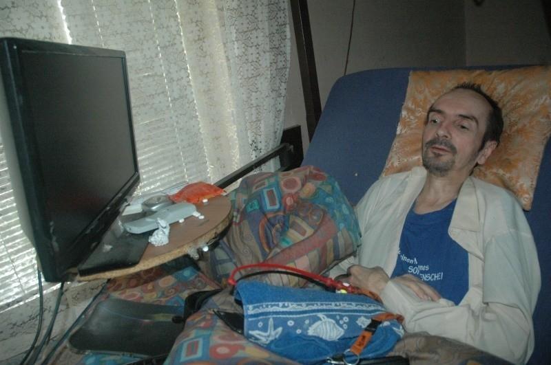 Józef Psiuk od 26 lat przykuty jest do łóżka