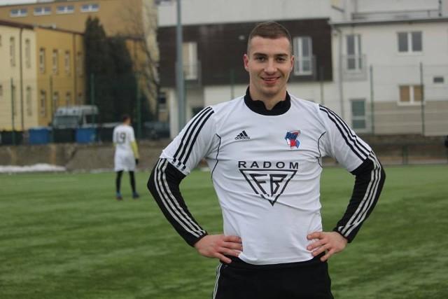 Przemysław Śliwiński piłkarzem Pilicy Białobrzegi.