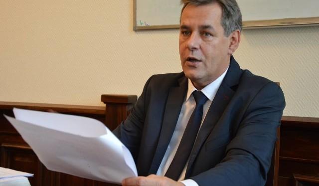 Burmistrz Finster mówi o tegorocznych inwestycjach