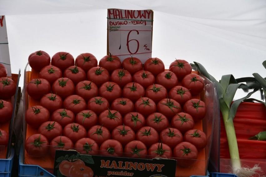 Wyraźnie spadają ceny pomidorów - w piątek bardzo ładny...