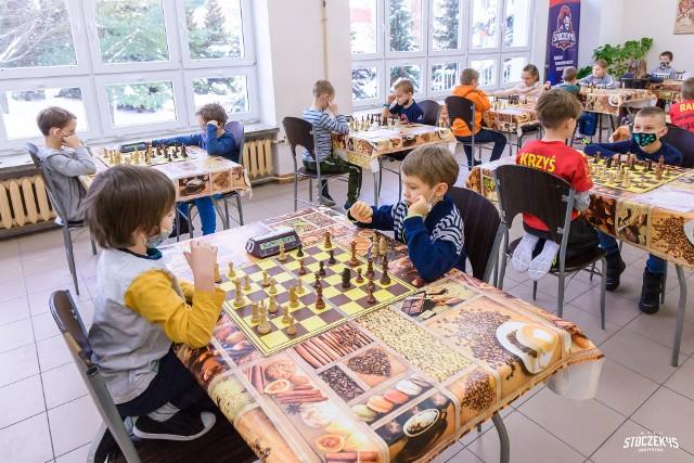 Trwa rywaliazcji w Białostockiej Lidze Szkolnej w szachach